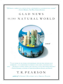 Glad News of the Natural World: A Novel