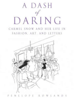 A Dash of Daring: Carmel Snow and Her Life In Fashion, Art, and Letters
