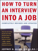 How to Turn an Interview into a Job