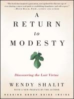 A Return to Modesty