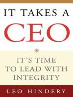 It Takes a CEO