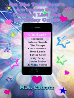On The Teen Beat's Awesome Star Contact List and Birthday Guide