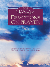 365 Daily Devotions on Prayer by Andrew Murray - Read Online
