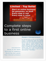 Complete Steps to a First Online Business Modern Entrepreneurs 3rd Edition