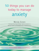 50 Things You Can Do Today to Manage Anxiety