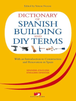 Dictionary of Spanish Building Terms: With an Introduction to Construction and Renovation in Spain