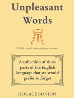 Unpleasant Words