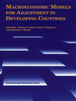 Macroeconomic Models for Adjustment in Developing Countries