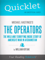 Quicklet on Michael Hastings' The Operators