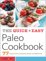 The Quick & Easy Paleo Cookbook