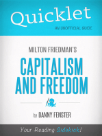 Quicklet on Capitalism and Freedom by Milton Friedman: Key terms and definitions