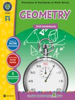 Geometry - Drill Sheets Gr. 3-5