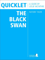 Quicklet on Nassim Taleb's The Black Swan (CliffNotes-like Book Summary and Analysis)
