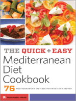 The Quick & Easy Mediterranean Diet Cookbook