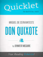 Quicklet On Miguel De Cervantes' Don Quixote