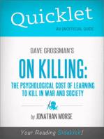 Quicklet on Dave Grossman's On Killing