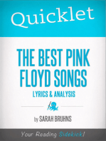 Quicklet on The Best Pink Floyd Songs