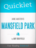 Quicklet on Jane Austen's Mansfield Park