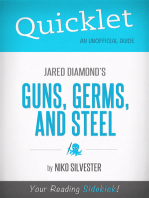 Quicklet on Guns, Germs, and Steel by Jared Diamond