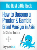 How to Become a Proctor & Gamble Brand Manager in Asia