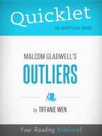 Quicklet On Outliers By Malcolm Gladwell (CliffNotes-like Book Summary)