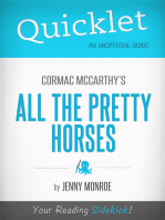 Quicklet on All the Pretty Horses by Cormac McCarthy