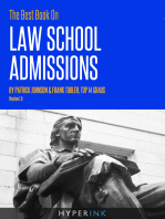 The Best Book On Law School Admissions