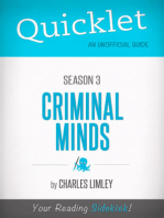 Quicklet on Criminal Minds Season 3 (CliffsNotes-like Summary, Analysis, and Commentary)
