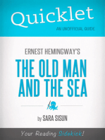 Quicklet on Ernest Hemingway's The Old Man and the Sea (CliffsNotes-like Summary, Analysis, and Commentary)