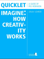 Quicklet on Jonah Lehrer's Imagine