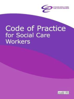 Code of practice for social care workers
