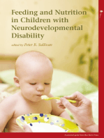 Feeding and Nutrition in Children with Neurodevelopmental Disabilities