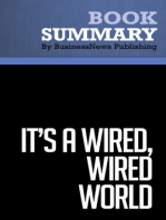 It's a Wired, Wired World  David Stauffer (BusinessNews Publishing Book Summary)