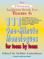 The Ultimate Audition Book for Teens Volume 6