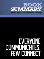 Everyone Communicates, Few Connect  John C. Maxwell (BusinessNews Publishing Book Summary)