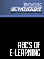 ABCs of eLearning  Brooke Broadbent (BusinessNews Publishing Book Summary)
