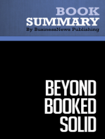 Beyond Booked Solid  Michael Port (BusinessNews Publishing Book Summary)