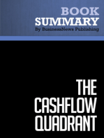 The CashFlow Quadrant  Robert Kiyosaki and Sharon Lechter (BusinessNews Publishing Book Summary)
