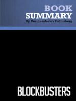 Blockbusters  Gary Lynn and Richard Reilly (BusinessNews Publishing Book Summary)
