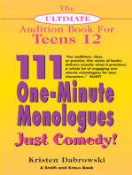 The Ultimate Audition Book for Teens Volume 12