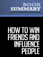 How to win friends and influence people  Dale Carnegie (BusinessNews Publishing Book Summary)