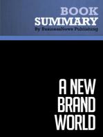 A New Brand World  Scott Bedbury (BusinessNews Publishing Book Summary)