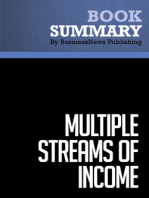 Multiple Streams Of Income  Robert G. Allen (BusinessNews Publishing Book Summary)