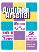 Audition Arsenal for Women in their 30's
