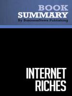 Internet Riches  Scott Fox (BusinessNews Publishing Book Summary)