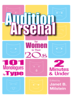 Audition Arsenal for Women in their 20's: 101 Monologues by Type, 2 Minutes & Under