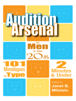 Audition Arsenal for Men in their 20's