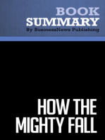 How the Mighty Fall  Jim Collins (BusinessNews Publishing Book Summary)