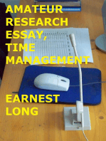 Amateur Research Essay
