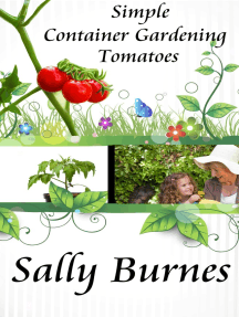 Simple Container Gardening: Tomatoes